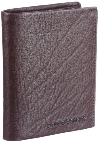 Bruno Banani Crunch_3 W 320.868, Unisex - Erwachsene Portemonnaies, 10x12x2 cm (B x H x T) Braun (Brown)