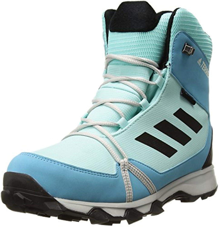 adidas outdoor unisexe enfants terrex terrex terrex snow cp cw k soulier, claire aqua / noir / vapeur nous petit bleu, 3 enfants aceb78