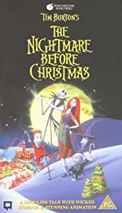 The Nightmare Before Christmas [VHS] [1994]