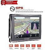 'leshp Navigateur GPS pour voiture 5Écran tactile avec Bluetooth FM 8GB/128M