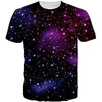 Uideazone Uomo 3d stampata del modello T-shirt fresco grafiche (Novità Mens Pullover)