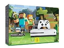 Xbox One S 500 GB + Minecraft