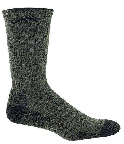 Darn Tough Fish and Game Series Merino Wool Cushion Boot Sock,Forest Green,X-Large (Sock Fish Green)