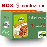 enerZONA Frollini avena 250g box 9 buste