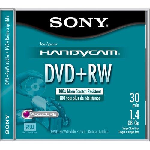 Sony Dpw30R2H 1.4 Gb Camcorder 8Cm Dvd+Rw (Single)