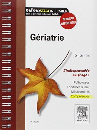 Gériatrie par Geneviève Gridel
