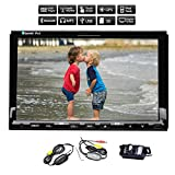 Hot Sale Autoradio Unversial 2DIN 7 inch PUPUG HD Bluetooth Win8 UI touch Touch Screen wireless camera in-dash Car DVD with bulit-in 3D Car Audio GPS Navigation Bluetooth Video FM/AM Radio Aux Input Car Stereo player