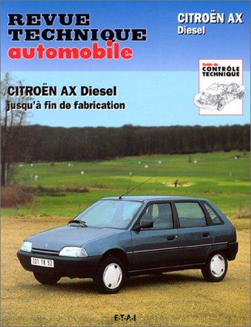 Revue technique de l'Automobile numéro 503.4 : Citroën AX 14, diesel 1989-1993