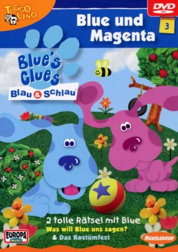 Blue's Clues 3 - Blue und Magenta (Blues Clues 3)
