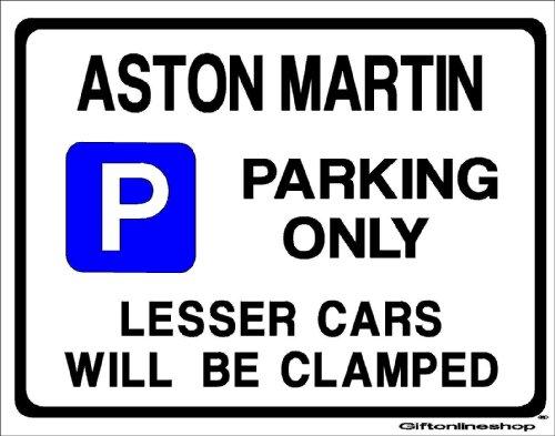 aston-martin-car-parking-sign-gift-for-db-6-v8-db6-vantage-2-4-model-owner-extra-large-size-205-x-27