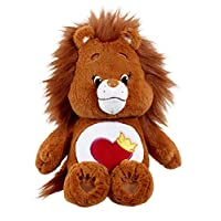 "Care Bears 14665 ""Brave Heart Lion Plush Toy With DVD (Medium)"
