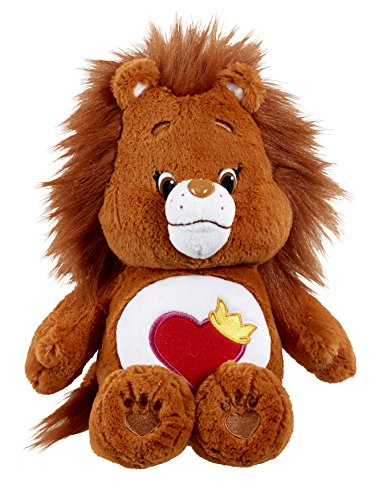 care-bears-14665-brave-heart-lion-plush-toy-with-dvd-medium