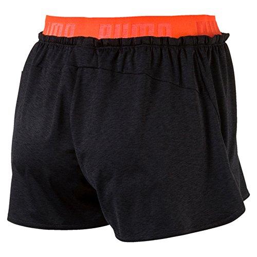 Puma Damen Transition Drapey W Shorts Dark Gray Heather