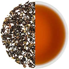 Tearaja Makaibari Organic Darjeeling Black Tea 300 Gms Makes 165 Cups, Organic Black Tea from the WORLD's 1st Tea Factory | Aids Weight Loss | Pure Un-Blended | Sourced from the Gardens | Fresh Leaf Tea | Nitrogen Flushed, Vaccum Sealed for Freshness.