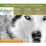Eden Nourriture pour chien en petites croquettes avec plusieurs viandes et poissons (ratio de 80/20) – 2kg