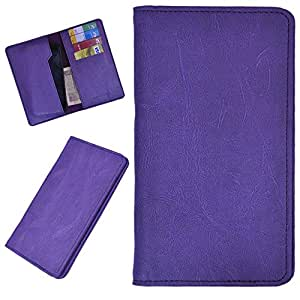 DSR Pu Leather case cover for Micromax Canvas Express 2 E313 (purple)