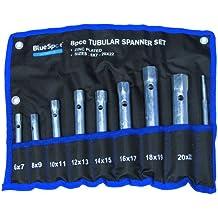 Blue Spot 04308 - Juego de llaves tubulares (8 piezas)
