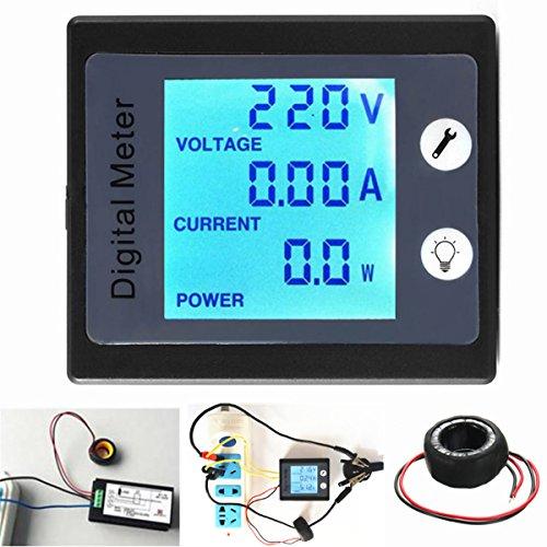DyNamic AC80V-260V 100A Digital Power Energy Meter Spannung Tester Amperemeter Voltmeter Transformator