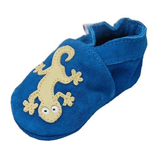 Lauflernschuhe Hausschuhe Krabbelschuhe Baby -mit Gummisohle- Gr.19-31 LappaDE