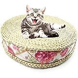 Bonwg Natürliche Stroh Haustiere Atmungsaktiv Entfeuchtung Komfortable Sommer Gras Dicke Katze Ruhende Katzenstreu