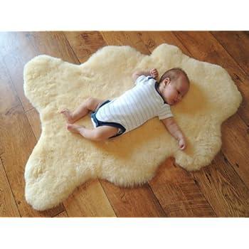 GENUINE MEDICAL SHEEPSKIN RUG - NATURAL SOFT WOOL - ANTIBACTERIAL - BABY CARE - NURSING