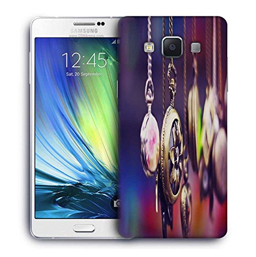 Snoogg Locktes Printed Protective Phone Back Case Cover For Samsung Galaxy A7
