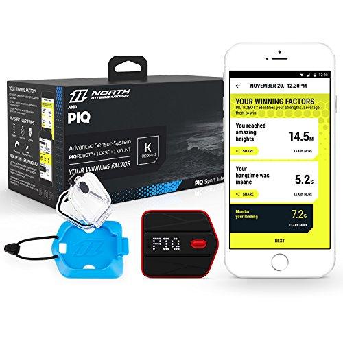 PIQ BKITE1 Kite Set Multisport Sensor, Sprunganalyse, Echtzeitanzeige, Fordere Freunde heraus