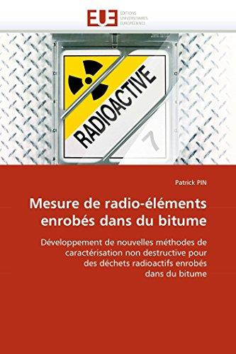Mesure de radio-éléments enrobés dans du bitume