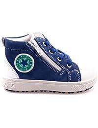 Primigi Whizz Unisex Bambino, Pelle Scamosciata, Sneaker Alta, 21 EU