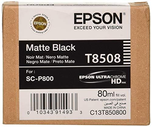 Epson C13T850800 Singlepack Matte, schwarz -