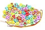 Obst und Zahlen Halskette und Armband Crafts Kinder DIY Perlen Set