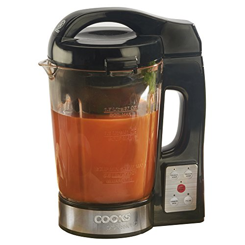 easy soup smoothie maker machine by cooks professional. Black Bedroom Furniture Sets. Home Design Ideas