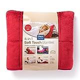 4 Jahreszeiten Bettdecke/Steppdecke / Tagesdecke aus Mikrofaser 140x200 cm mit Fusstasche - 4in1 - Atmungsaktiv, Waschmaschinenfest - Hochwertige Europäische Qualität von Vitapur
