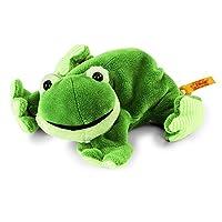 Steiff Little Floppy Cappy Frog Plush Toy (Green)