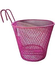 Cesta de la bicicleta rosa Cesta útil de los perros para las señoras