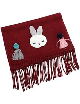 Tokkids - Sciarpa invernale per bambini e bambine (coniglio)