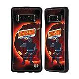 Head Case Designs Officiel Justice League Action Darkseid Art Personnages Coque Hybride Compatible avec Samsung Galaxy Note8 / Note 8