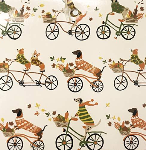 Pine Grove Forest Festliche Hundedecke für Herbstkleidung, Reiten, Fahrräder, weich, dekorativ, Luxus-Plüsch