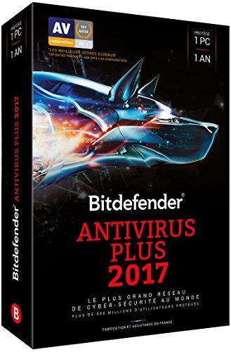 Bitdefender Antivirus Plus 2017 (1 appareil, 1 an)