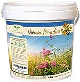 Bienen Paradies - Blühfreudige Bienenweide und Gründünger Mischung (5 kg/ausreichend für 1.500 bis 2.500 m²)