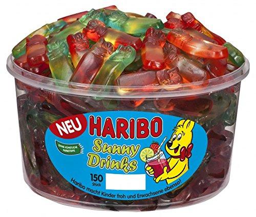 Haribo - Sunny Drinks - Fruchtgummi - Weingummi - Box in 150 St