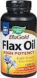 Nature's Way, EFA-Gold Leinsamen-Öl, hohe Potenz 1300 mg, 200 Kapseln