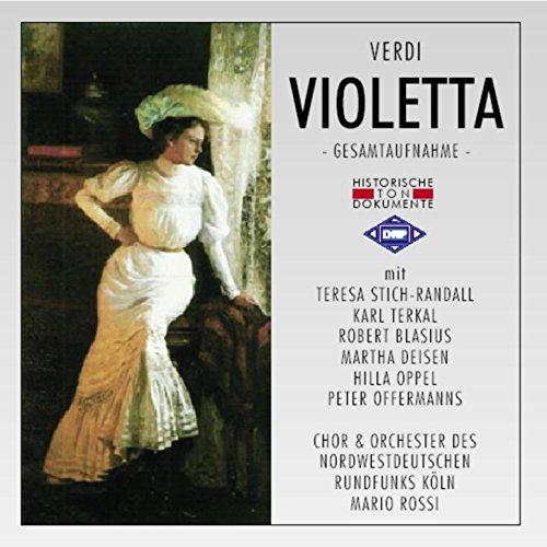 Violetta (La Traviata): Vierter Akt - Teurer, hier nimm dies Bild von mir -