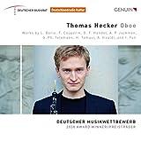 Thomas Hecker - Oboe - Deutscher Musikwettbewerb 2008 Preisträger