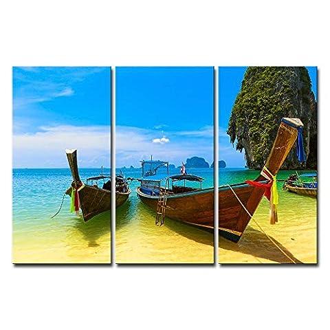 Impression sur toile murale Motif photo de plage d