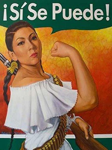 The Poster Corp Robert Valadez – Rosita - SI Se Puede Kunstdruck (22,86 x 30,48 cm)
