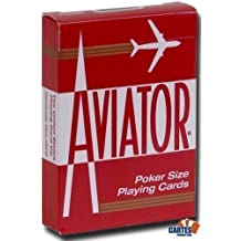 AVIATOR Deck - Red Back (US Playing Card Company) by Aviator