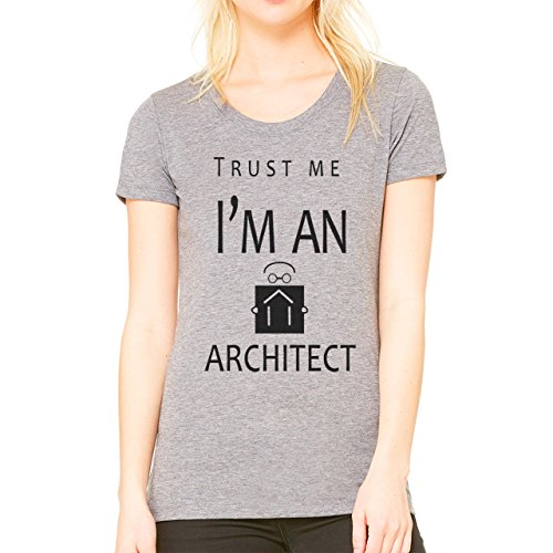 Trust Me I'm An Architect XL Donne T-Shirt