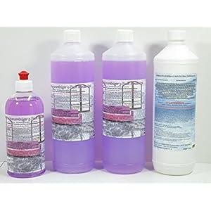 A.K.B. Glanzreiniger Konzentrat (idealer Bodenreiniger) 0418 (2x1 L Flasche + 0,5L Flasche + 1L Grundreiniger),Kein Biozid !