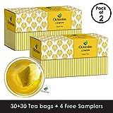 Best Iced Tea Bags - Octavius Lemon Green Tea - 32 Tea Bags Review